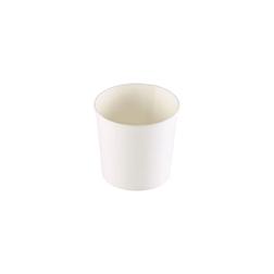 Coppette asporto monouso Soup Duni in cartone bianco cl 35,5