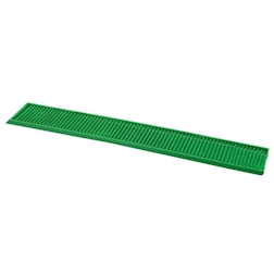 Tappetino,Bar mat gomma 70x11 cm verde