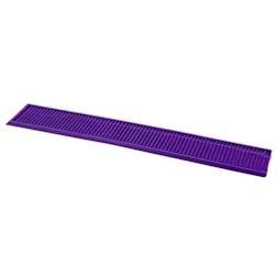 Tappetino,Bar mat gomma 70x11 cm viola