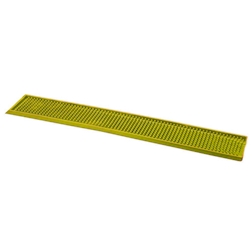 Tappetino,Bar mat gomma 70x11 cm giallo