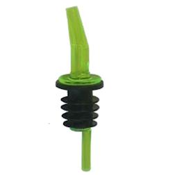 Tappo versatore pourer in policarbonato verde
