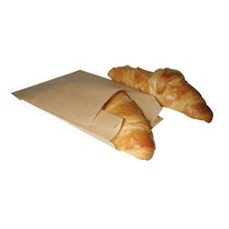Sacchetti per alimenti in carta marrone cm 28 x 18