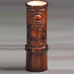 Tiki mug Totem ceramica 550ml marrone alto