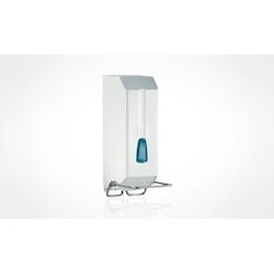 Dispenser per sapone liquido in plastica bianco lt 1,2