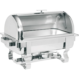 Scaldavivande,chafing dish roll top GN 1/1