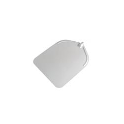 Pala per pizza rettangolare liscia in alluminio 37 cm Stil Casa