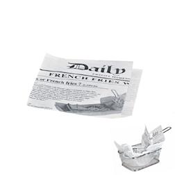 Sacchetti per panini in carta newspaper cm 13 x 13