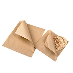 Sacchetti per panini marroni cm 24x24