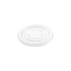 Coperchio monouso Duni in pla trasparente per coppetta salsa cm 6,5