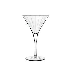 Coppa Martini Bach Bormioli Luigi in vetro cl 26