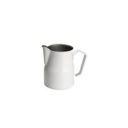 Lattiera Motta in acciaio inox bianca 500 ml
