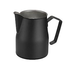 Lattiera Motta in acciaio inox nera 750 ml