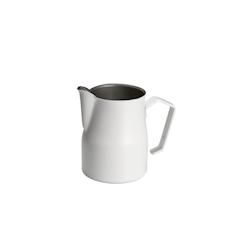 Lattiera Motta in acciaio inox bianca 750 ml