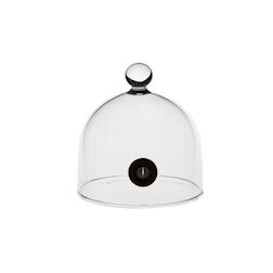 Minicampana Aladin in vetro 100% Chef 9 cm