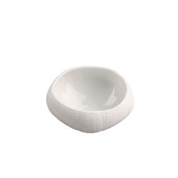 Coppette mediterraneo riccio di mare 100% Chef in porcellana 3 pezzi