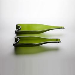 Piatto bottiglia Champagne piccolo 100 % Chef