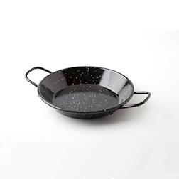 Minipaellera 100%Chef in acciaio 15 cm