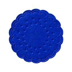 Sottobicchieri Duni in carta blu cm 7,5
