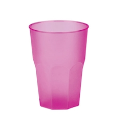 Bicchiere cocktail in polipropilene fucsia cl 35