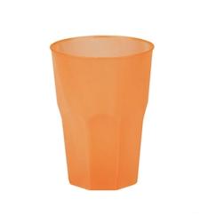 Bicchiere cocktail in polipropilene arancio cl 35
