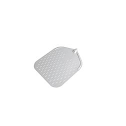 Pala pizza rettangolare forata in alluminio 37 cm Stil Casa