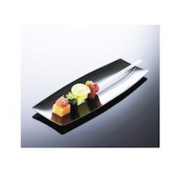 Spiedini Hola in plastica 100% Chef trasparenti cm 20