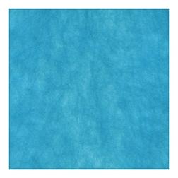 Coprimacchia Pack Service in Airspun cm 100 x 100 blu mare