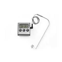 Termometro digitale Hendi con timer e sonda in acciaio inox -50° +250°
