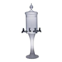Fontana assenzio in vetro 4 rubinetti