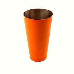 Boston tin in acciaio verniciato color arancione cl 84