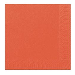 Tovagliolo Duni in cellulosa due veli cm 40 x 40 mandarino