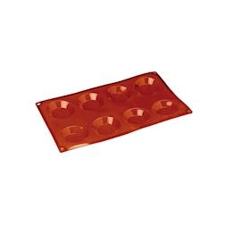 Flexipad fiorentine 8 impronte in silicone marrone cm 30x17,5