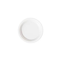 Piatto fondo tondo monouso Duni in polpa di cellulosa bianca cm 16
