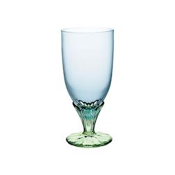 Coppa Bahia Go-Go Bormioli Rocco in vetro azzurro e verde cl 54
