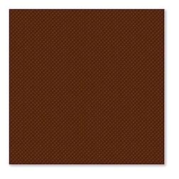 Tovaglioli in cellulosa 2 veli cm 38 x 38 cioccolata con trama micropuntata