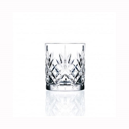 Bicchiere RCR Melodia dof in cristallo lavorato cl 31