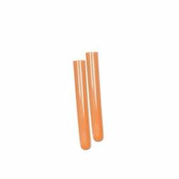 Test tube in plastica dura arancione fluo cl 2