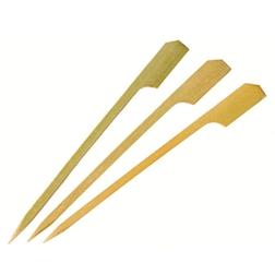 Stecchini a forma di remo in bamboo cm 9