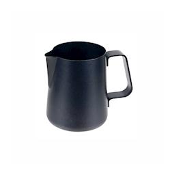 Lattiera Easy Ilsa in acciaio inox nero con rivestimento antiaderente cl 60