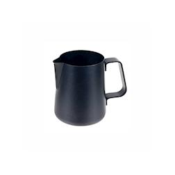 Lattiera Easy Ilsa in acciaio inox nero con rivestimento antiaderente cl 30