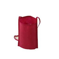 Tracolla porta calice degustazione in tnt rossa cm 24x17,5