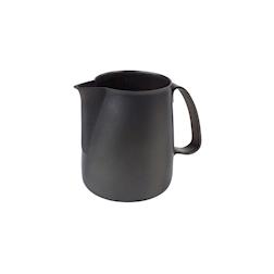 Lattiera Anniversario Ilsa in acciaio inox con rivestimento antiaderente nero cl 50