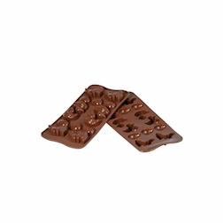 Stampo cioccolatini Pasqua in silicone cm 21x10,5