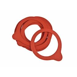 Guarnizione per vasetti Weck in gomma rossa cm 74x86