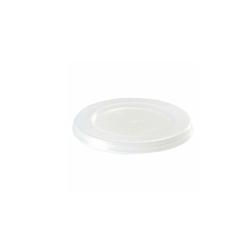 Coperchio monouso Duni in ps trasparente per coppetta condimento cm 5