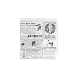 Sacchetti decoro Times per hamburger in carta cm 17 x 18
