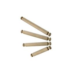 Mattarello in legno di faggio cm 80