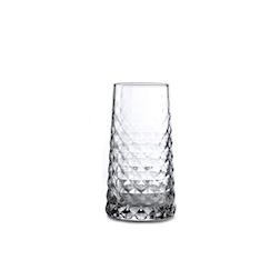 Bicchieri Gem Durobor in vetro lavorato cl 35
