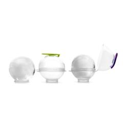 Stampo ghiaccio a forma di sfera in silicone