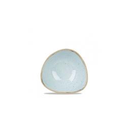 Bowl triangolare Stonecast Churchill in ceramica vetrificata azzurra cm 15,3